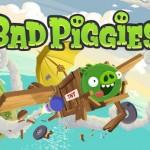 Bad Piggies jsou na Google Play
