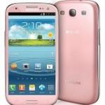 Růžový Samsung Galaxy S III