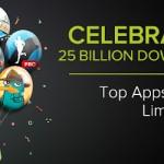 Google play slaví 25 miliard stažení – akčně zlevněny aplikace a hry na 5 Kč