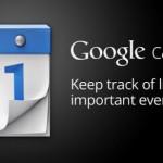 Google kalendář aktualizován