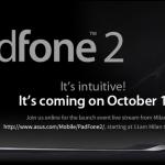 Asus Padfone 2 bude představen 16.října v Miláně