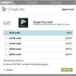Google Play nabízí v USA možnost předplatit si kredit