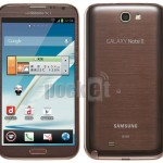 Samsung Galaxy Note II se objevil v hnědé barvě