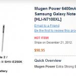 6400mAh baterie pro Samsung GALAXY Note II