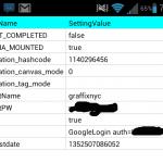 Aplikace S-Memo si uchovává heslo k Google účtu ve formě čistého textu v lokální SQLite databázi