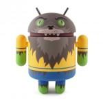 Androidí figurka Vlkodlaka v limitované edici