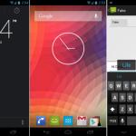 Stáhněte si widgety hodin a swipovací klávesnici z Androidu 4.2