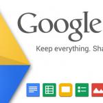 Aktualizace Google Drive přináší možnost editace tabulek