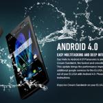 Panasonic Eluga dostal v Evropě aktualizaci na Android 4.0 ICS