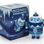 Zimní figurka Androida od Dyzplastic se začne prodávat ve čtvrtek