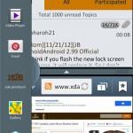 XDA: Víceokenní multitasking pro Samsung Galaxy S II