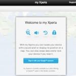 Sony spustilo službu My Xperia, která vám pomůže při ztrátě smartphonu