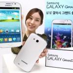 Samsung Galaxy Grand bude v Jižní Koreji nabízen se čtyřjádrovým procesorem