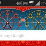 Google Doodles jsou dostupné v Google Now