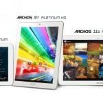 Archos přichází s novou řadou tabletů Platinum