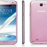 Samsung Galaxy Note II se převlékne do růžové