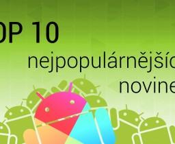 Top 10 nejpopulárnějších aplikací|4. týden