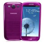 Samsung Galaxy S III bude nabízen ve fialové barvě