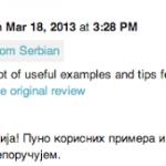 Vývojářská konzole nabídne automatický překlad komentářů k aplikacím