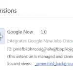 Google Now objeven v chystané betě destopového Chromia