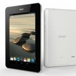 Acer představil vylepšený levný tablet Iconia B1 se čtyřjádrem, 1GB RAM a 3G