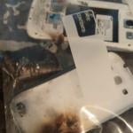 Galaxy S III – exploze během nabíjení (fotografie)