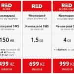 Červená revoluce v podání nových RED tarifů od Vodafone