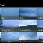 Webkamery ČHMÚ – aktuální stav vždy po ruce