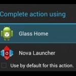Klasické androidí aplikace na Google Glass