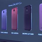 Samsung oznámil pět nových barev pro Galaxy S4