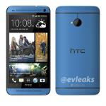Modré HTC One na prvním uniklém renderu