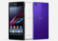 Sony Xperia Z1 Honami render