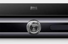 Sony Xperia Z1 detail