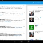 Twitter aplikace z Galaxy Note 10.1 2014 se dostala na internet
