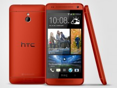 HTC One mini red