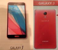 Samsung Galaxy J leak