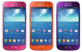 Galaxy S4 Mini new colors