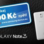 Samsung spustil Cash Back na podporu prodejnosti Galaxy Note 3