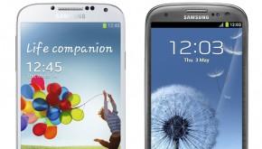 Samsung Galaxy S4 vs Galaxy S3