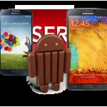 Android 4.4 KitKat příjde na Galaxy S4 a Note 3 do konce ledna