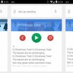 Vyzkoušejte si koledy v Google Now