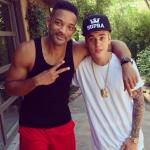 Instagram: Fotka Justina Biebera a Willa Smitha je neoblíbenější