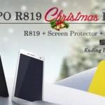 Tip na předvánoční nákup: Oppo R819 můžete mít s velkou slevou a dárky navíc