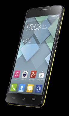 IDOL X Flash Yellow