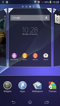 Xperia Z2 UI5