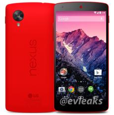 nexus 5 red evleaks