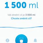 Tip na aplikaci: Pitný režim