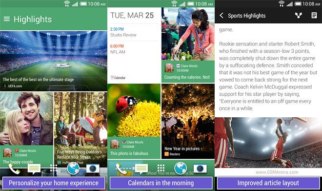 HTC BlinkFeed launcher