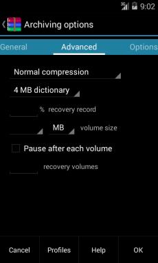 RAR pro Android
