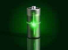 glowing-green-battery-charging